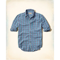 Camisa Blusa Social Manga Comprida Hollister Importada Eua