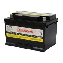 Bateria Moura Energy De 12v 50ah Baterias De Carro+nf