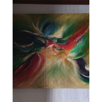 Cuadro Decorativo Pintado En Acrílico