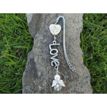 Separador Libro Love Angel Bautizo, Primera Comunión, Boda