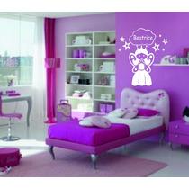 Vinilo Decorativo Infantil Niña, Princesa Hada Color