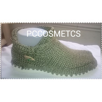 Zapatos Tejidos Crochet Para Damas