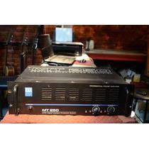 Potencia Zkx Mt250 Amplificador De Potencia 250w