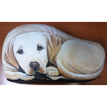 Almohada O Pisapuertas Perro Labrador Retriever, Americano
