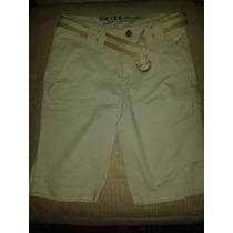 Pantalon Tipo Bermuda Nautica De Niño