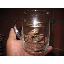 1 Antiguo Tarro De Vidrio Cerveza Corona De Barril