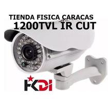 Camara Bullet Exterior 1200tvl Ir Cut 3.6mm Tienda Caracas