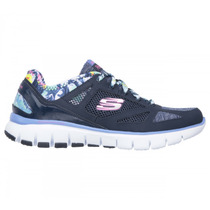 Tênis Feminino Skechers Skechflex Tropical Vibes Relaxed Fit