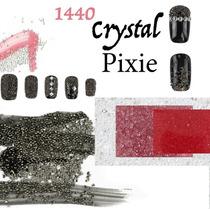 Crystal Pixie 1440 Caviar De Cristal Decoracion Uñas Gelish