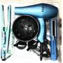 Combo Profesional Secador +plancha + Cepillo+ Difusor