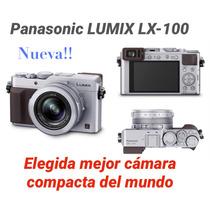 Panasonic Lumix Lx 100 Zoom 24-70 Filma 4k Edic. Limit Retro