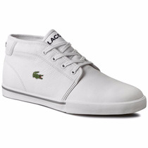 Bota Lacoste - Ampthill Lcr3 Blanco 2016