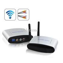 Transmissor E Receptor Wireless Av Áudio Vídeo + Extersor Ir