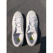Tenis Adidas Blancos Concha Nuevos Talla 31 (usa 13)