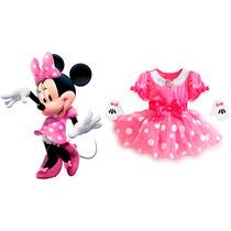 Disfraz Minnie Mouse Para Bebé - Original Disney Store!