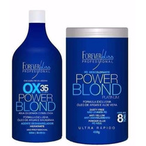 Kit Power Blond Pó & Ox35, Forever Liss + Brinde