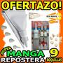 Wow Manga Repostera 10 En 1 Incluye 9 Boquillas Torta Dulce