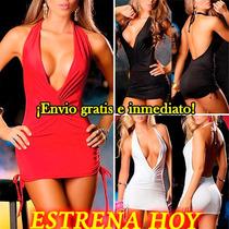 Vestidos Fiesta Cortos Sexys, Noche Coctel Mini Vestido Dama