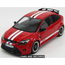 Ford Focus Rs 2010 - Rojo - Minichamps 1/18