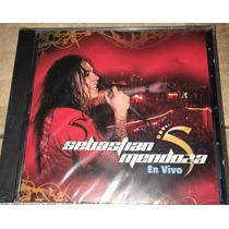 Cd Sebastian Mendoza En Vivo Nuevo +cd De Regalo P.chorros