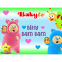 Kit Imprimible Billy Bam Bam Baby Tv Diseñá Tarjetas Mas