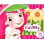 Kit Imprimible Frutillita Diseñá Tarjetas Cotillon Y Mas #2