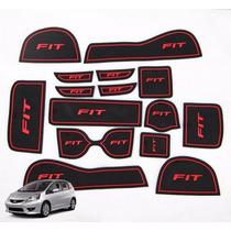 Honda New Fit Tapetes Ver Interno Borracha Acessorios Painel