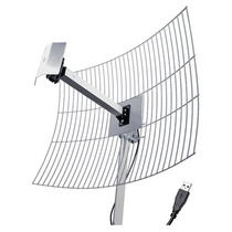 Kit Cliente Wireless Usb-2010 Antena De 20 Dbi+ Cabo Usb 10m