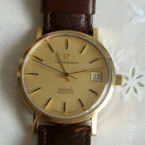 Relógio De Pulso Automatic Omega Constellation - Ouro 18 Kl!