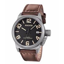 Relógio Magnum Ma33433c Esportivo Com Pulseira De Couro