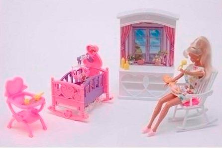 Gloria El Cuarto Del Bebe Muebles Para Muñecasen Smile - $ 350,00 en ...