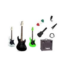 Kit Guitarra Strinberg Strato Egs267+amplificador+acessórios