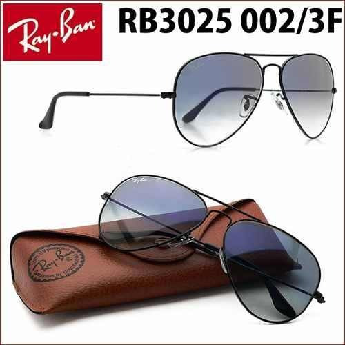 7ff13b386ef35b Ray Ban Aviador Rb3025 002 3f Novo Original - R  599
