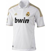Real Madrid 11-12 Jersey 100% Oficial, Manga Corta Nueva