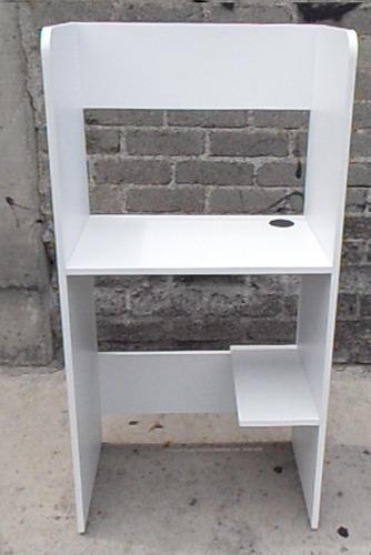Escritorio Mueble Para Ciber Solo Blanco  $ 59000 en Mercado Libre