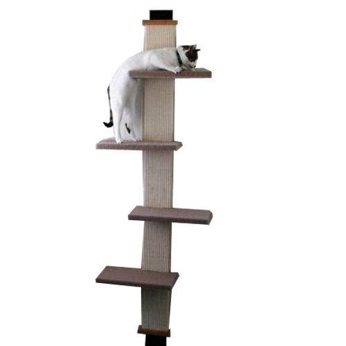 Rascador para gatos trepador montaje en puerta niveles hm4 - Trepadores para gatos ...