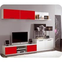 Mueble Centro De Tv, Pantalla Plana, Lcd, 3d 1,80 De Largo