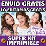Kit Imprimible Violetta Personalizado Gratis Cumpleaños Invi