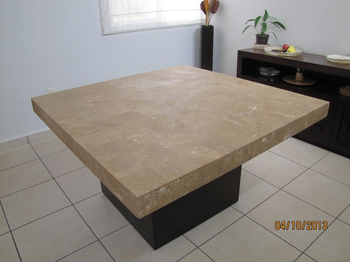 Comedor de marmol caf de mt para 8 personas for Comedor de marmol 8 sillas precio