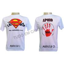 Camiseta Personalizada Evangelica Gospel Igreja Senhor Jesus