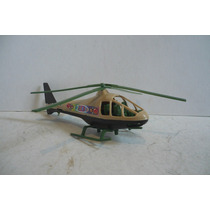 Helicoptero Militar - Avion De Juguete Escala