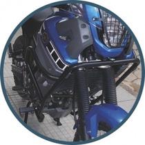 Combo Xt 660 Protetor Motor, Farol, Sup Lateral Bagageiro