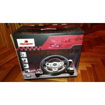 Volante Y Pedales Swiftmaster Ps2 / Pc