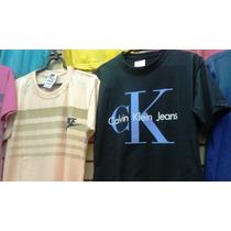 Kit C/ 10 Camisetas Camisas Masculinas Varias Marcas Revenda