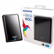 Disco Duro Externo Adata 500gb Hv620 Usb 3.0