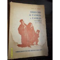 Derecho De Familia Y Familia Volumen 2 Saul D. Cestau Usado