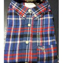 Camisas Abercrombie Leñadoras Frizadas Cuotas Sin Interes