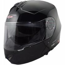 Casco Rebatible V Can V270 Doble Visor 2016 En Freeway Motos