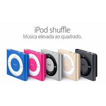 Ipod Shuffle 2gb Apple Diversas Cores, Original, Lacrado
