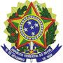 Patch Bordado Brasão Republica Fed. Brasil Com Velcro Bra18